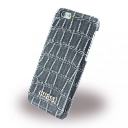 Guess iPhone 6 Croco Hard hátlap, tok, fekete