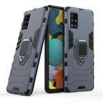 Armor Ring Samsung Galaxy A51 5G ütésálló hátlap, tok, kék