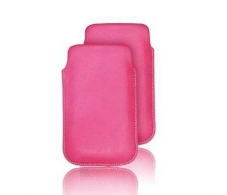 Forcell Slim Kora Nokia C7-00 univerzális tok, rózsaszín