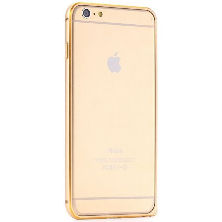 Iwill iPhone 6 Double color Alu Bumper tok, arany