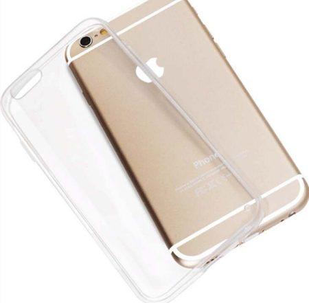 Iwill iPhone 6 Plus Super Slim szilikon tok, átlátszó