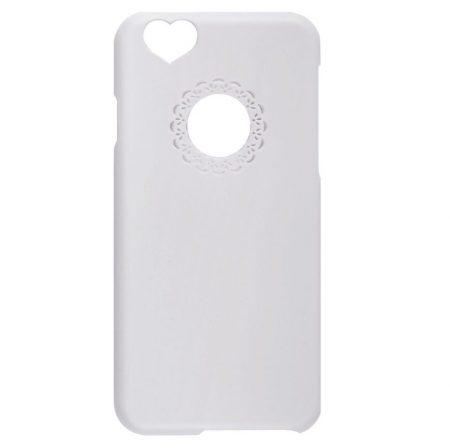 Iwill iPhone 6 Plus Girly hátlap, tok, fehér
