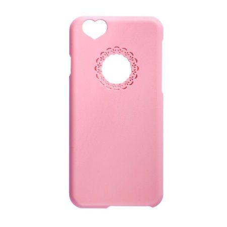Iwill iPhone 6 Plus Girly hátlap, tok, rózsaszín