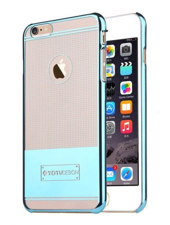TOTU Jane series-remember case for iPhone 6 Plus tok, kék