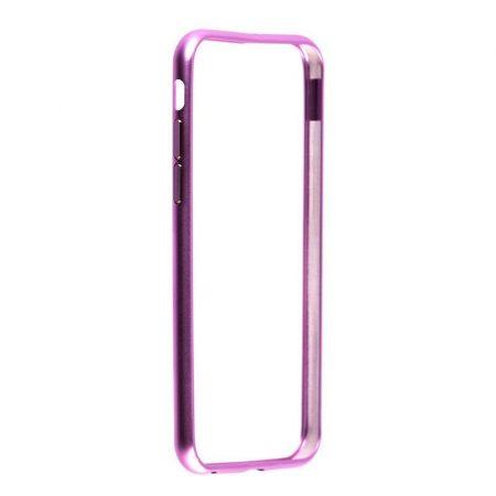 TOTU Round series aluminum bumper iPhone 6 tok, rózsaszín