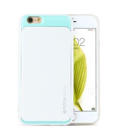 TOTU SPLENDOR SERIES case for iPhone 6 tok, fehér-zöld