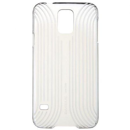 Baseus Line Style Samsung Galaxy S5 hátlap, tok, átlátszó