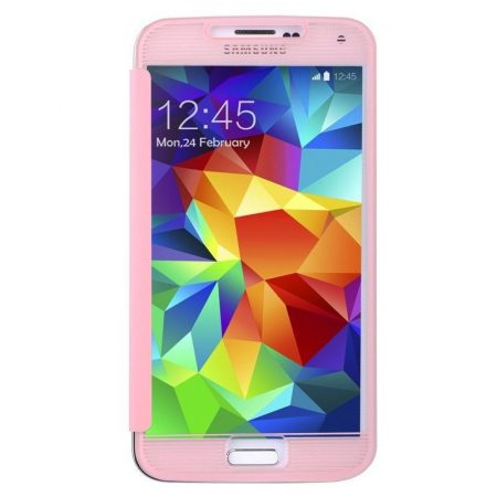 Baseus Bohem Samsung Galaxy S5 tok, rózsaszín