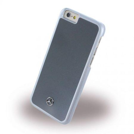 Mercedes-Benz iPhone 6/6S Dynamic Metallic Plate Hard hátlap, tok, ezüst