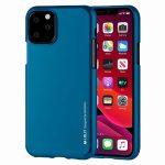 Mercury Goospery i-Jelly iPhone 12/12 Pro hátlap, tok, kék