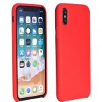 Forcell Silicone Soft Case Huawei P Smart (2020) hátlap, tok, piros