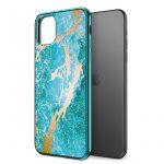 Zizo Refine Slim Clear Case iPhone 7 Plus/8 Plus ütésálló hátlap, tok, kék