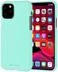 Mercury Goospery Soft Jelly Case iPhone 11 Pro hátlap, tok, menta zöld