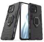 Armor Ring Xiaomi Mi 11 ütésálló hátlap, tok, fekete