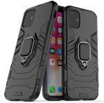 Armor Ring iPhone 11 ütésálló hátlap, tok, fekete