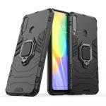 Armor Ring Huawei P Smart S/Y8P ütésálló hátlap, tok, fekete