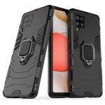 Armor Ring Samsung Galaxy S20 FE/S20 Lite ütésálló hátlap, tok, fekete