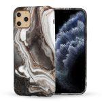 Perfect Fit Marble iPhone 11 Pro márvány mintás, szilikon hátlap, tok, színes