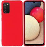 Silicon case Samsung Galaxy A02S szilikon hátlap, tok, piros