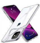 iPhone 12 Mini 2mm szilikon hátlap, tok, átlátszó