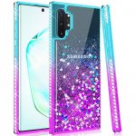 Diamond Liquid Case Samsung Galaxy S10 Lite Diamond Liquid hátlap, tok, kék-lila