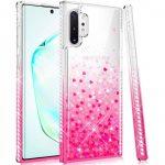 Diamond Liquid Case Samsung Galaxy S10 Lite hátlap, tok, rózsaszín