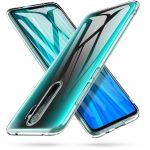 Tech-Protect Flexair Crystal Xiaomi Redmi Note 8 Pro hátlap, tok, átlátszó