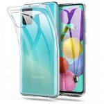 Tech-Protect Flexair Crystal Samsung Galaxy A71 hátlap, tok, átlátszó