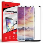 Zizo Full Covered Edge to Edge Samsung Galaxy S8 Plus teljes kijelzős 3D edzett üvegfólia, tokbarát, fekete