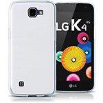 LG K4 Ultra Slim 0,3mm szilikon hátlap, tok, átlátszó