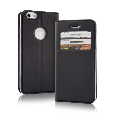 Smart Look Huawei Y5 II oldalra nyíló tok, flip tok, fekete