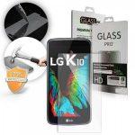 LG K10 kijelzővédő edzett üvegfólia (tempered glass) 9H keménységű (nem teljes kijelzős 2D sík üvegfólia)