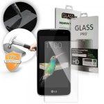 LG K4 kijelzővédő edzett üvegfólia (tempered glass) 9H keménységű (nem teljes kijelzős 2D sík üvegfólia), átlátszó