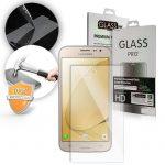 Samsung Galaxy J1 (2017) LCD Glass Screen kijelzővédő edzett üvegfólia (tempered glass) 9H keménységű (nem teljes kijelzős 2D sík üvegfólia), átlátszó