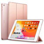 ESR Yippee Series iPad 10.2 (2019) oldalra nyíló tok, rozé arany