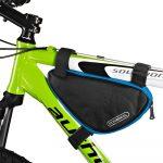 Roswheel univerzális biciklis táska, fekete-kék