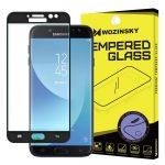 Wozinsky Samsung Galaxy J7 (2017) J730 3D Soft Edge teljes kijelzős edzett üvegfólia (tempered glass) 9H keménységű, fekete