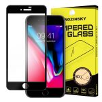 iPhone 7 Plus/8 Plus Wozinsky PRO+ Glass Screen 5D Full Glue teljes kijelzős edzett üvegfólia, 9H keménységű, fekete