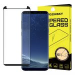 Wozinsky Samsung Galaxy S8 Plus PRO+ Glass Screen 5D Full Glue teljes kijelzős edzett üvegfólia (tempered glass) 9H keménységű, tokbarát, fekete
