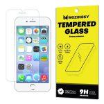 Wozinsky iPhone 6/6S/7/8 kijelzővédő edzett üvegfólia (tempered glass) 9H keménységű (nem teljes kijelzős 2D sík üvegfólia), átlátszó