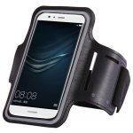 HT Universal Running Armband univerzális futó telefon karpánt 6 colos méretig, fekete