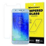 Wozinsky Samsung Galaxy J3 (2018) kijelzővédő edzett üvegfólia (tempered glass) 9H keménységű (nem teljes kijelzős 2D sík üvegfólia), átlátszó