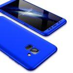 Full Body Case 360 Samsung Galaxy A6 (2018), elő-hátlap tok, kék