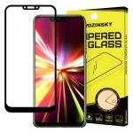 Wozinsky Huawei Mate 20 Lite 5D Full Glue teljes kijelzős edzett üvegfólia (tempered glass) 9H keménységű, tokbarát, fekete
