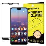 Wozinsky Huawei P20 Pro 5D Full Glue teljes kijelzős edzett üvegfólia (tempered glass) 9H keménységű, tokbarát, fekete