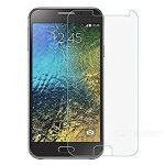 Samsung Galaxy E5 kijelzővédő edzett üvegfólia (tempered glass) 9H keménységű (nem teljes kijelzős 2D sík üvegfólia), átlátszó